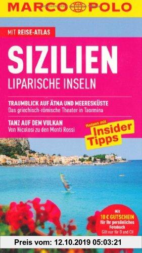 Gebr. - MARCO POLO Reiseführer Sizilien, Liparische Inseln: Liparische Inseln. Reisen mit Insider-Tipps. Mit Reiseatlas und Sprachführer