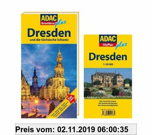 Gebr. - ADAC Reiseführer plus Dresden: Mit extra Karte zum Herausnehmen: und die Sächsische Schweiz