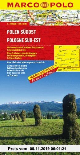 Gebr. - MARCO POLO Karte Polen Südost