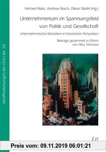 Gebr. - Unternehmertum im Spannungsfeld von Politik und Gesellschaft: Unternehmerische Aktivitäten in historischer Perspektive. Beiträge gesammelt zu