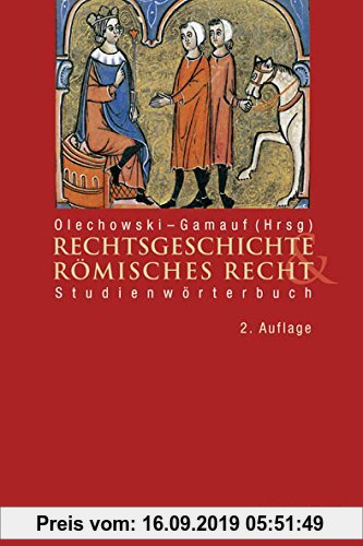Gebr. - Studienwörterbuch Rechtsgeschichte und Römisches Recht