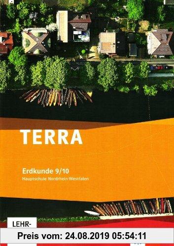 Gebr. - TERRA Erdkunde für Nordrhein-Westfalen - Ausgabe für Hauptschulen. Lehrerband mit Kopiervorlagen und CD-ROM 9./10. Schuljahr