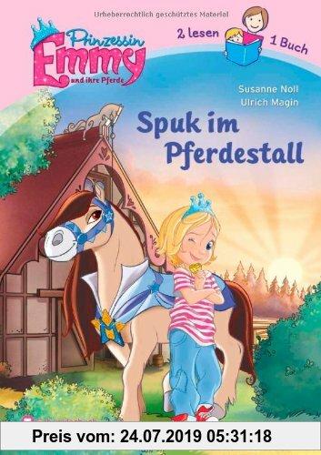 Gebr. - Prinzessin Emmy und ihre Pferde - Spuk im Pferdestall: Zwei lesen ein Buch