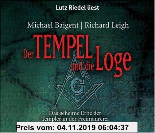 Gebr. - Der Tempel und die Loge. Das geheime Erbe der Templer in der Freimaurerei. 5 CDs