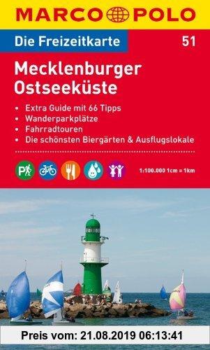 Gebr. - MARCO POLO Freizeitkarte Mecklenburger Ostseeküste 1:100.000