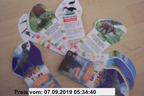 Gebr. - KOSMOS - Quizfächer - Urzeit-Tiere