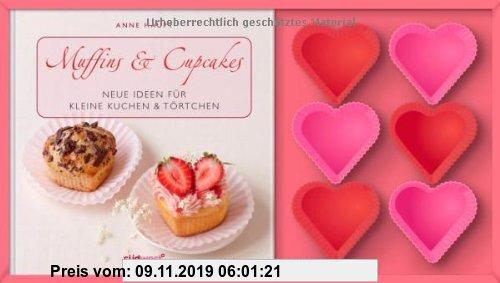 Gebr. - Muffins & Cupcakes-Set: Neue Ideen für kleine Kuchen & Törtchen. Buch mit Silikonförmchen