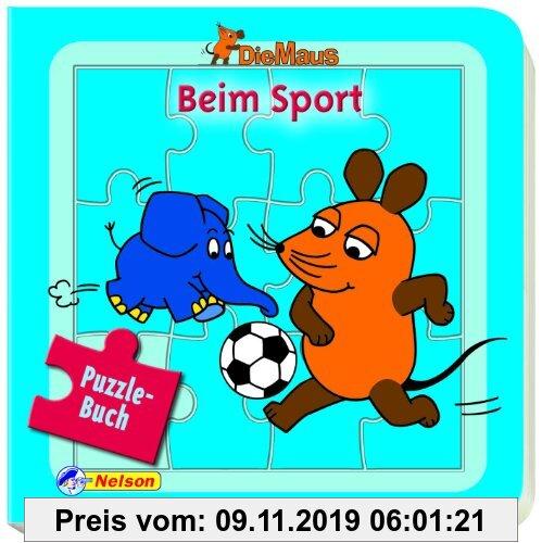 Gebr. - Die Maus, Beim Sport: Puzzlebuch