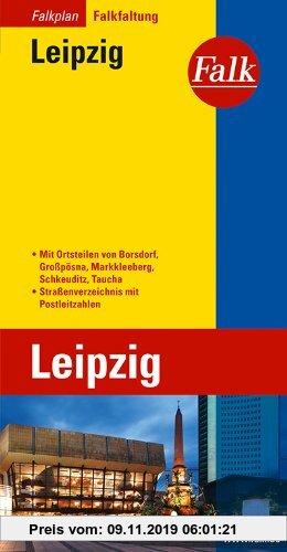 Gebr. - Falkplan Falk-Faltung Leipzig