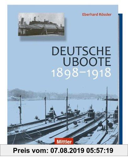 Gebr. - Deutsche U-Boote: 1898-1918