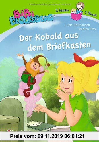 Gebr. - Bibi Blocksberg - Der Kobold aus dem Briefkasten: Zwei lesen ein Buch