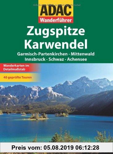 Gebr. - ADAC Wanderführer Zugspitze/Karwendel