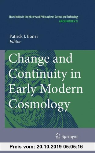 Gebr. - Change and Continuity in Early Modern Cosmology (Archimedes)