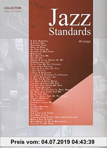 Gebr. - Jazz Standards: 40 Songs (Pvg)