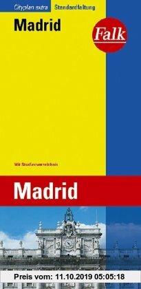 Gebr. - Falk Cityplan Extra Standardfaltung International Madrid mit Straßenverzeichnis