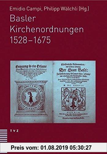 Gebr. - Basler Kirchenordnungen 1528-1675