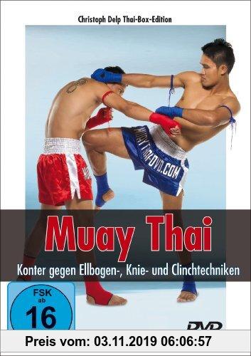 Gebr. - Muay Thai DVD - Konter gegen Ellbogen-, Knie- und Clinchtechniken