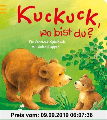 Gebr. - Kuckuck, wo bist du?: Ein Versteck-Spielbuch mit vielen Klappen. Ab 18 Monate