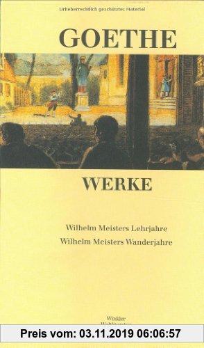 Gebr. - Werke in sechs Einzelbänden. Nach dem Text der Artemis-Gedenkausgabe der Werke Goethes: Werke, 6 Bde., Ln, Bd.4, Wilhelm Meisters Lehrjahre; W