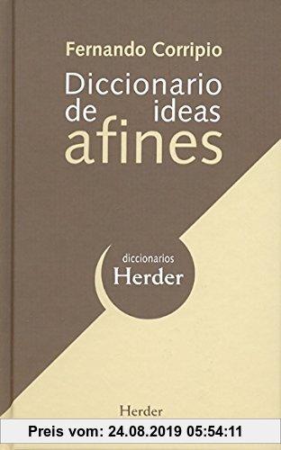 Gebr. - Diccionario de ideas afines (Diccionarios Herder)