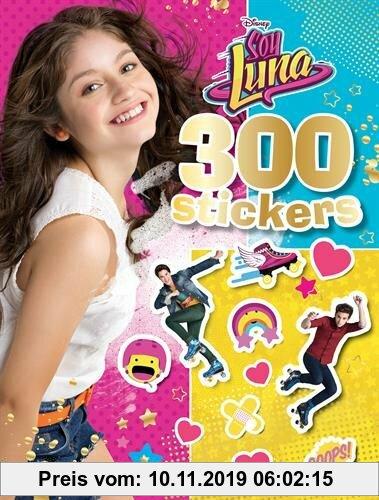 Gebr. - 300 stickers Soy Luna