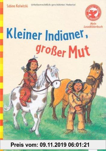 Gebr. - Der Bücherbär: Mein LeseBilderbuch: Kleiner Indianer, großer Mut